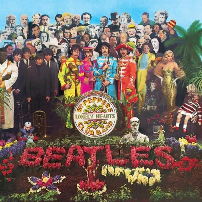 The Beatles - Sgt. Pepper's Lonely Hearts Club Band cover art