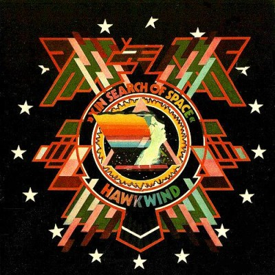 Hawkwind - In Search of Space cover art