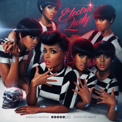 Janelle Monáe - The Electric Lady cover art
