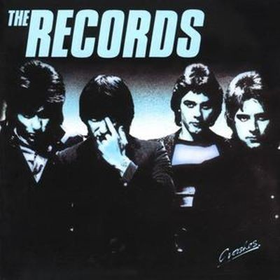 The Records - Crashes cover art