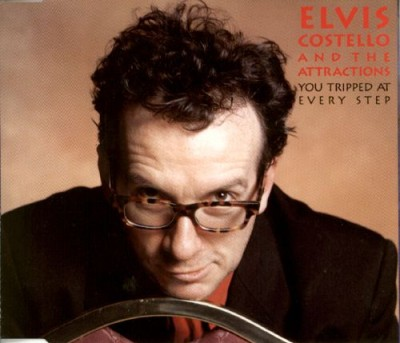 Elvis Costello / The Attractions - You Tripped at Every Step cover art