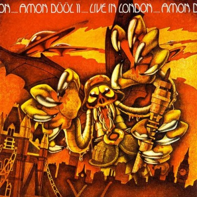 Amon Düül II - Live in London cover art