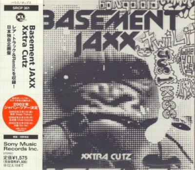 Basement Jaxx - Xxtra Cutz cover art