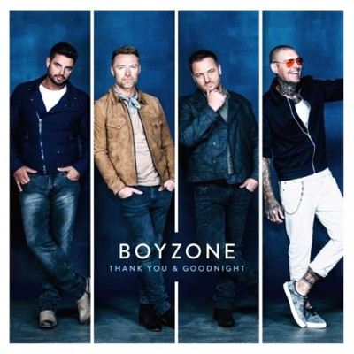 Boyzone - Thank You & Goodnight cover art