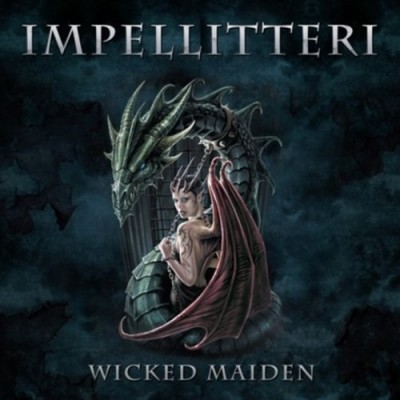 Impellitteri - Wicked Maiden cover art
