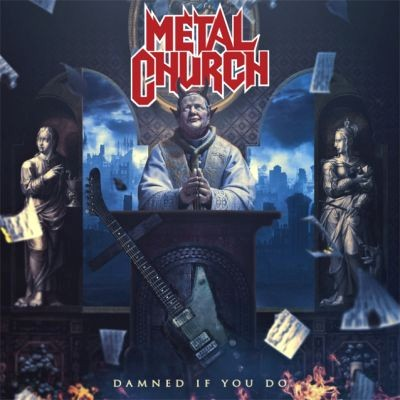 Metal Church - Damned If You Do cover art
