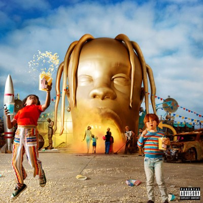 Travis Scott - Astroworld cover art