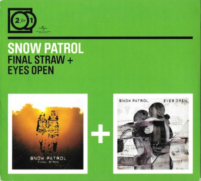 Snow Patrol - Final Straw + Eyes Wide Open cover art
