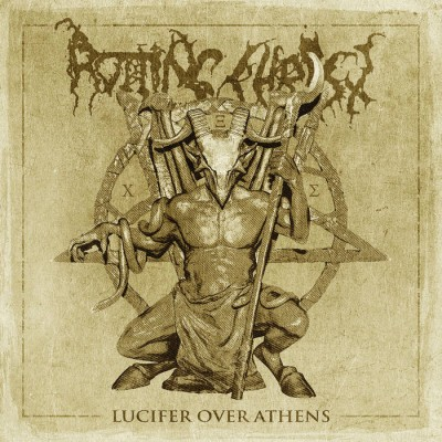 Rotting Christ - Lucifer over Athens cover art
