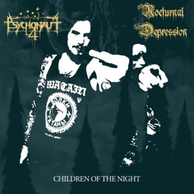 Psychonaut 4 / Nocturnal Depression - Children of the Night cover art