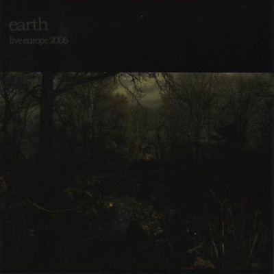 Earth - Live Europe 2006 cover art