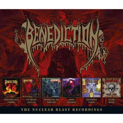 Benediction - The Nuclear Blast Recordings cover art
