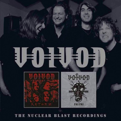 Voivod - The Nuclear Blast Recordings cover art