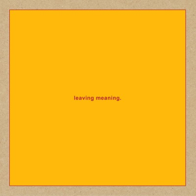 Swans - leaving meaning. cover art