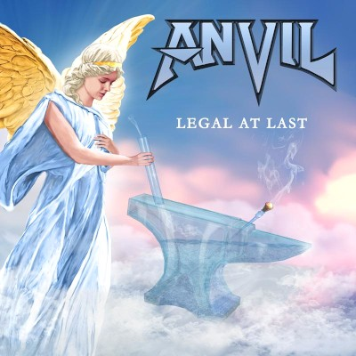 Anvil - Legal At Last cover art