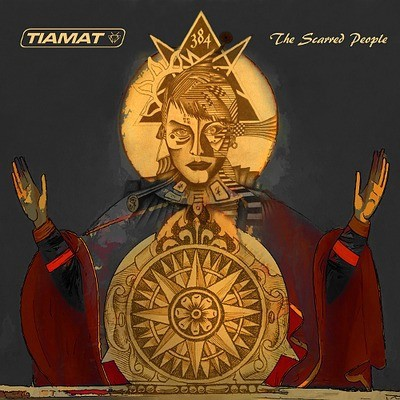 Tiamat - The Scarred People cover art