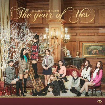 "TWICE - The year of ""YES"" cover art"