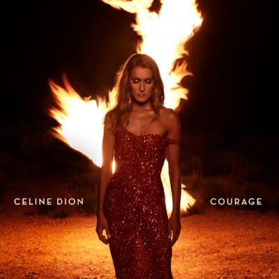 Céline Dion - Courage cover art