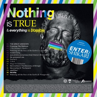 Enter Shikari - Nothing Is True & Everything Is Possible cover art