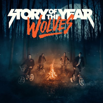 Story of the Year - Wolves cover art