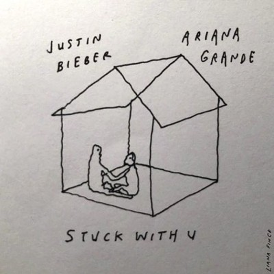 Ariana Grande / Justin Bieber - Stuck With U cover art
