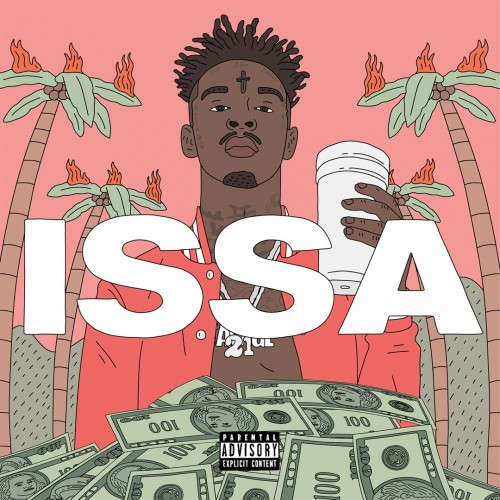 21 Savage - Issa Album cover art