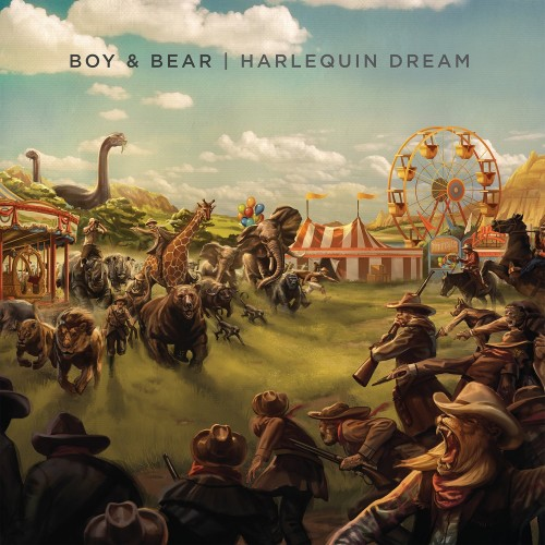 Boy & Bear - Harlequin Dream cover art