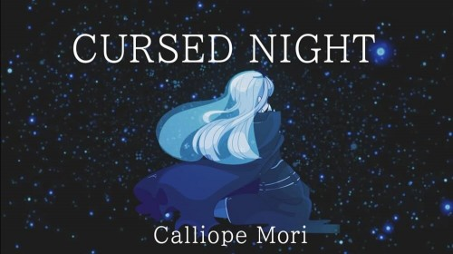 Mori Calliope - Cursed Night cover art