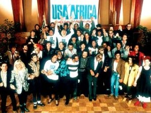 U.S.A. for Africa photo