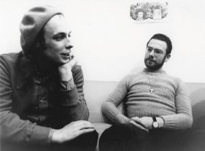 Fripp & Eno photo
