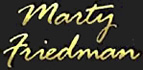 Marty Friedman logo
