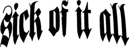Sick of it All logo